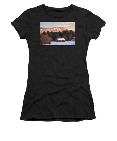 Mount Tom View From Southampton Women's T-Shirt