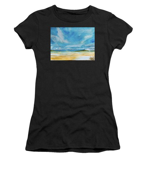 View Of Mount Wellington From South Bruny Island Women's T-Shirt