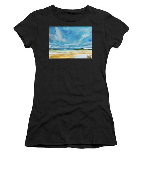 View Of Mount Wellington From South Bruny Island Women's T-Shirt (Athletic Fit)