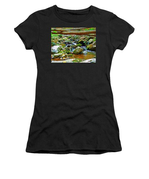 Mountain Appalachian Stream 2 Women's T-Shirt