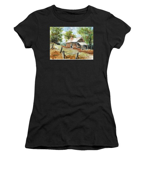 Mountain Get-away Women's T-Shirt (Athletic Fit)