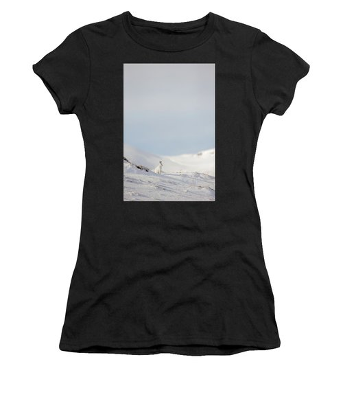 Mountain Hare On Hillside Women's T-Shirt