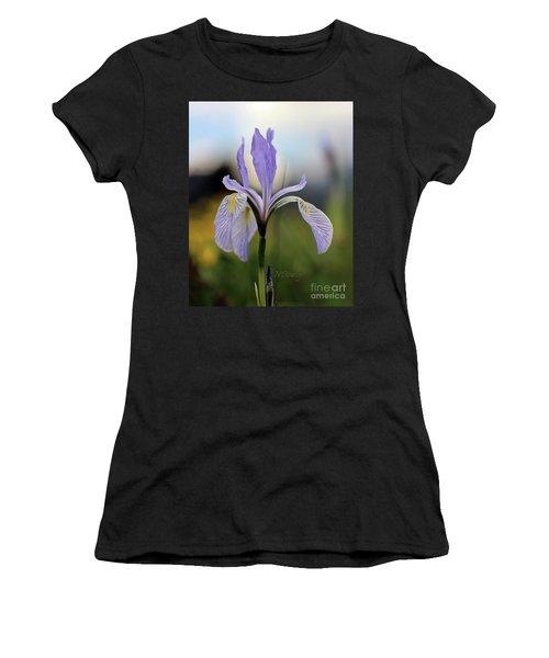 Mountain Iris With Bud Women's T-Shirt