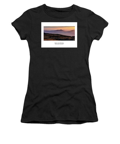 Mountain Mist Poster Women's T-Shirt (Athletic Fit)
