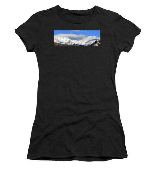 Mountain Peaks - Panorama Women's T-Shirt (Athletic Fit)
