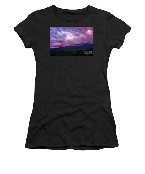 Mountain Sunset In The East Women's T-Shirt