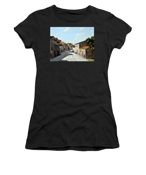 Mountain Village Main Street Women's T-Shirt