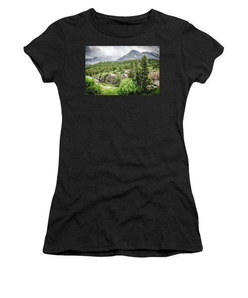 Mountain Vistas Women's T-Shirt (Athletic Fit)