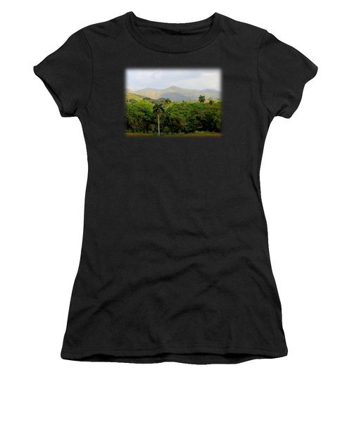 Mountains And Palms Women's T-Shirt