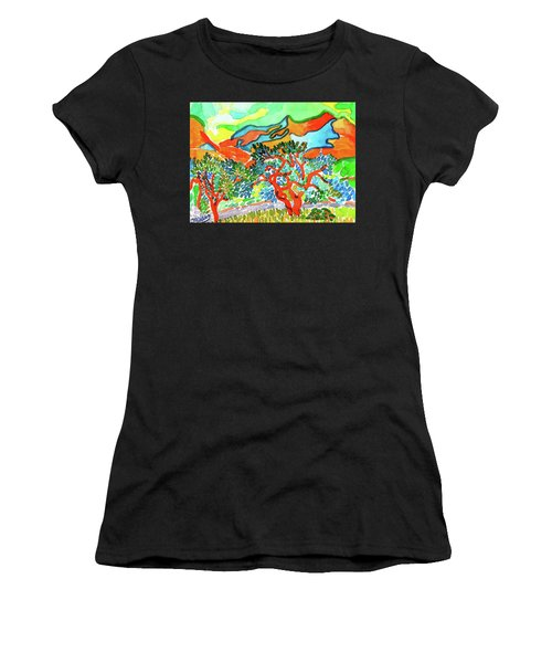 Mountains At Collioure Women's T-Shirt
