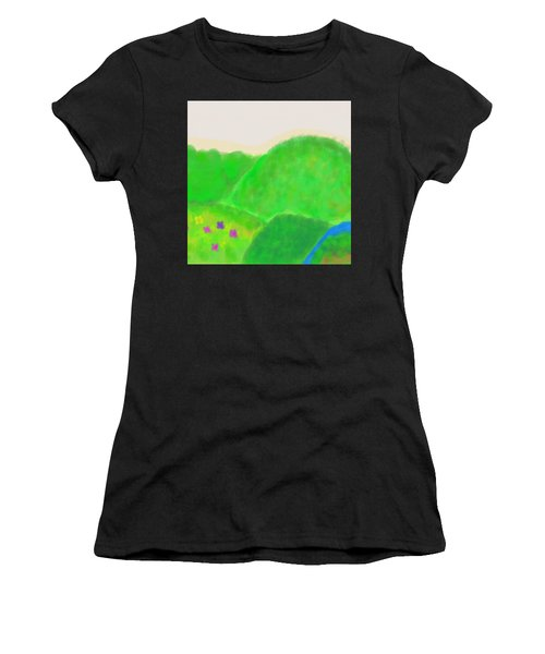Mountains Of Land And Love Women's T-Shirt