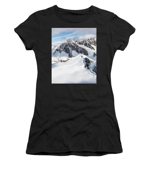 Mountains Of Southeast Alaska Women's T-Shirt (Athletic Fit)
