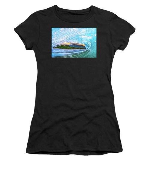 Mountains To The Sea Women's T-Shirt (Athletic Fit)