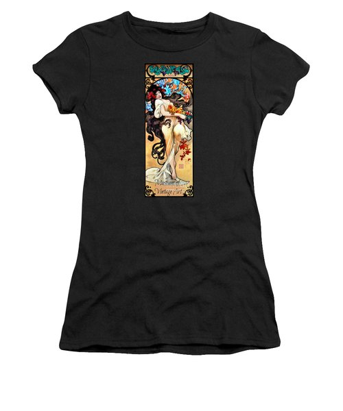 Women's T-Shirt (Junior Cut) featuring the photograph Mova Promo 2017 by Padre Art