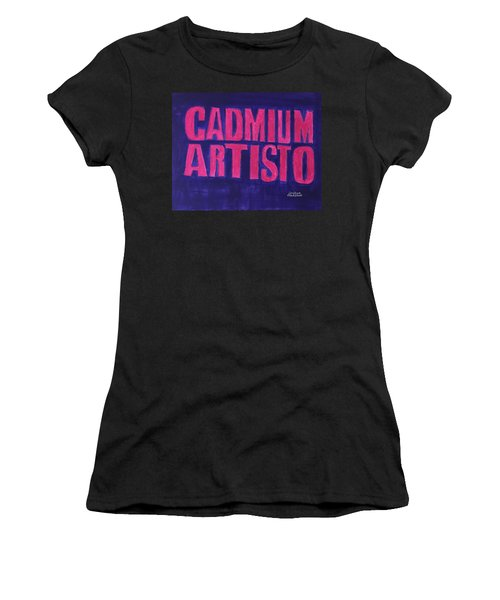 Movie Logo Cadmium Artisto Women's T-Shirt (Athletic Fit)