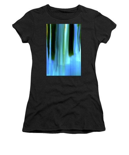 Moving Trees 37-05 Portrait Format Women's T-Shirt (Athletic Fit)