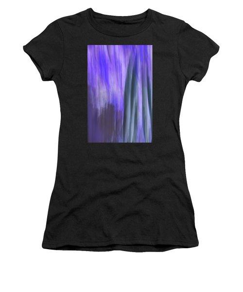 Moving Trees 37-36 Portrait Format Women's T-Shirt (Athletic Fit)
