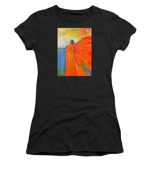 Mprints - Angel Of The Morning Women's T-Shirt (Athletic Fit)
