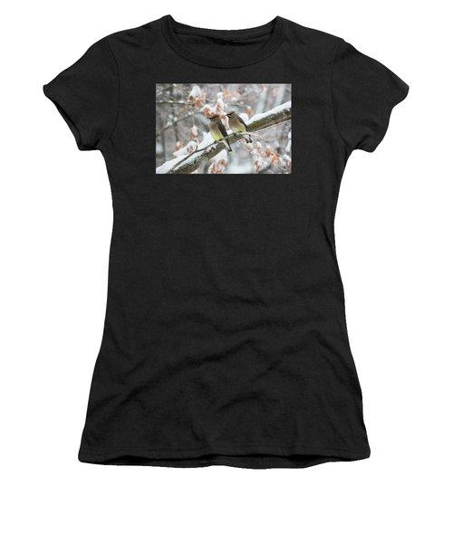 Mr. And Mrs. Cedar Wax Wing Women's T-Shirt
