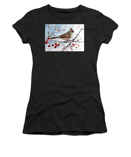 Mrs Red Bird The Visit Women's T-Shirt (Athletic Fit)