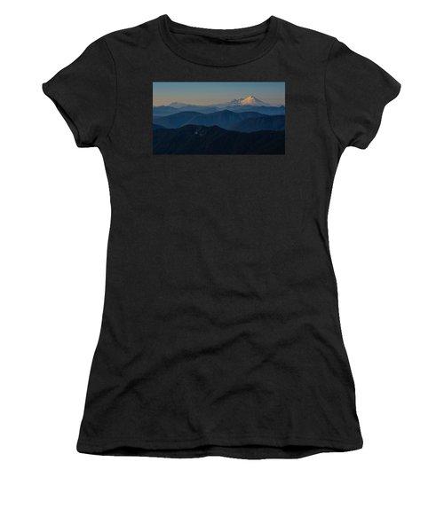 Mt. Baker From Mt. Pilchuck Women's T-Shirt