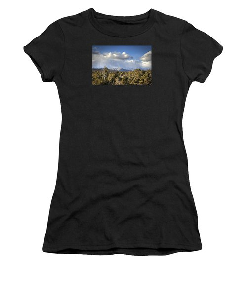 Mt Charleston Snow Storm Women's T-Shirt (Athletic Fit)