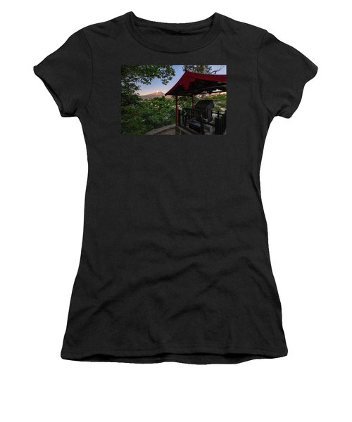 Mt Fuji From Ubuyagasaki Shrine Women's T-Shirt