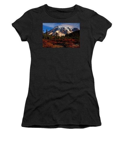 Mt. Rainier Paradise Morning Women's T-Shirt