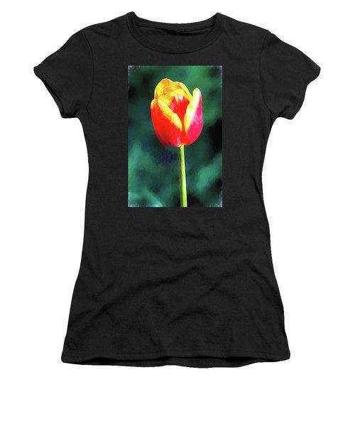 Mt Vernon Tulip Women's T-Shirt (Athletic Fit)