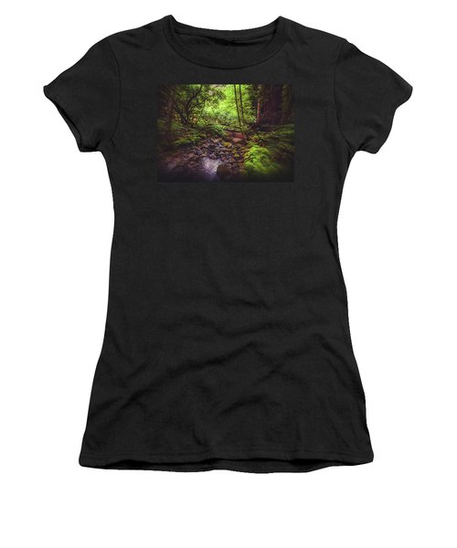 Muir Woods No. 3 Women's T-Shirt (Athletic Fit)
