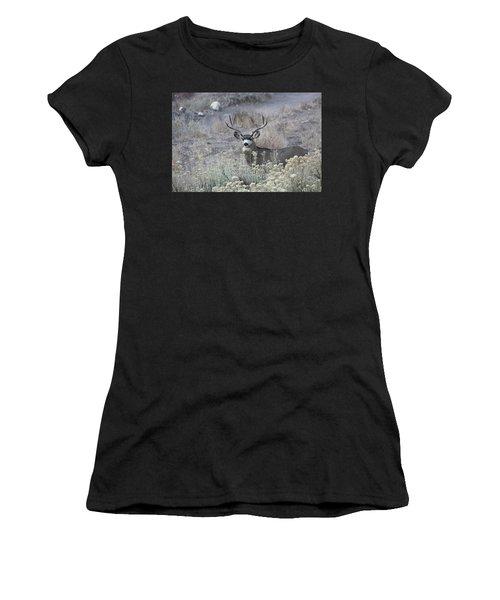 Muledeerbuck5 Women's T-Shirt