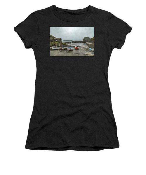 Mullion Cove Harbour Women's T-Shirt