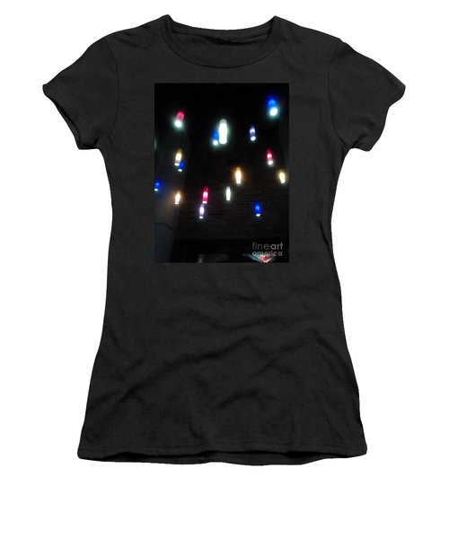 Multi Colored Lights Women's T-Shirt