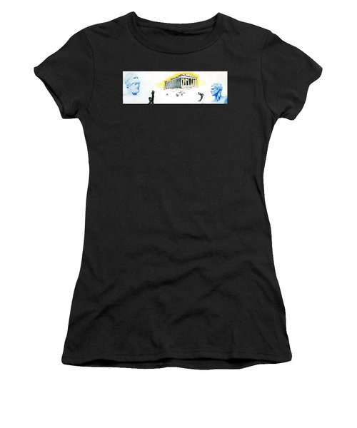 Mural Women's T-Shirt (Athletic Fit)