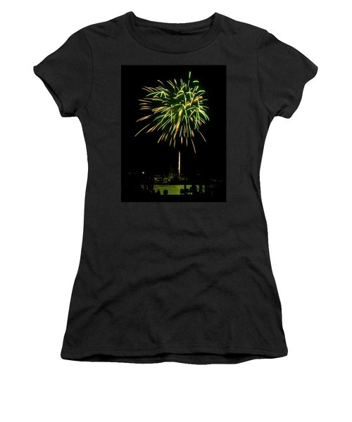 Murrells Inlet Fireworks Women's T-Shirt (Athletic Fit)