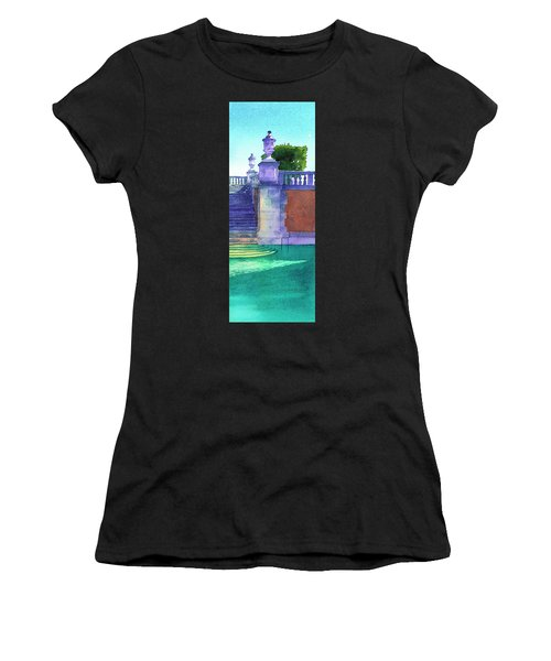 Museum Pool, Miami Women's T-Shirt (Athletic Fit)