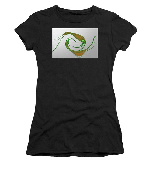 Music Takes Flight Women's T-Shirt (Athletic Fit)