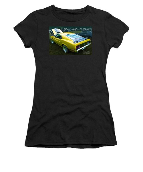Mustang Boss 302 Women's T-Shirt (Athletic Fit)