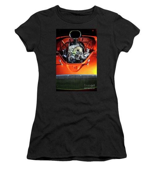 Women's T-Shirt featuring the photograph Muscle Engine by Scott Kemper