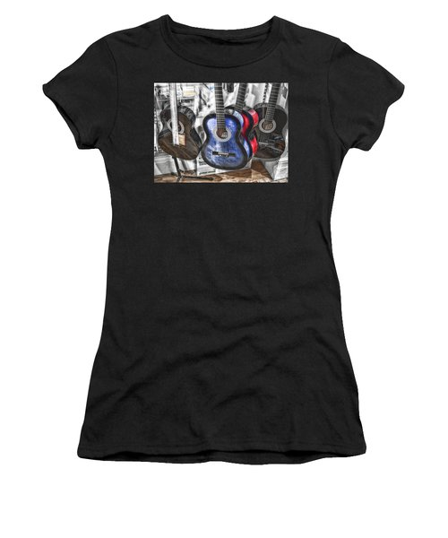 Muted Guitars Women's T-Shirt