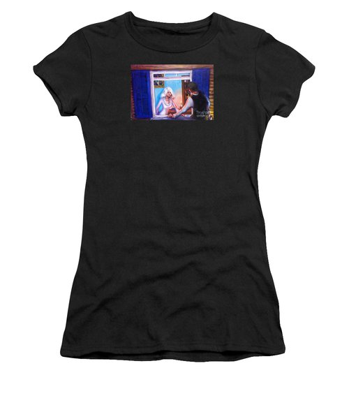 Intimate Conversation Women's T-Shirt (Athletic Fit)