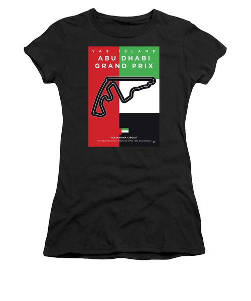 My Abu Dhabi Grand Prix Minimal Poster Women's T-Shirt