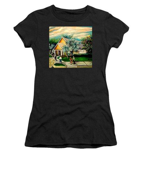 My Church Women's T-Shirt (Athletic Fit)