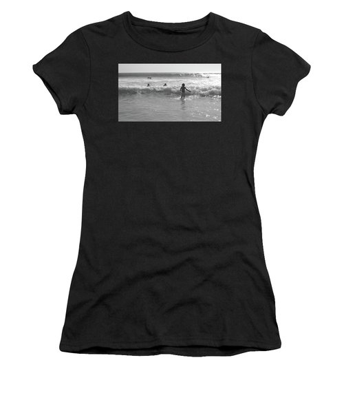 My Fist Time In The Sea Women's T-Shirt (Athletic Fit)