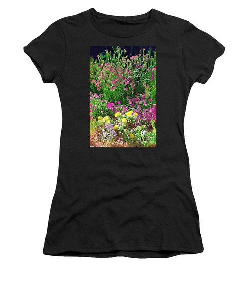 Women's T-Shirt (Junior Cut) featuring the photograph My Garden   by Donna Bentley