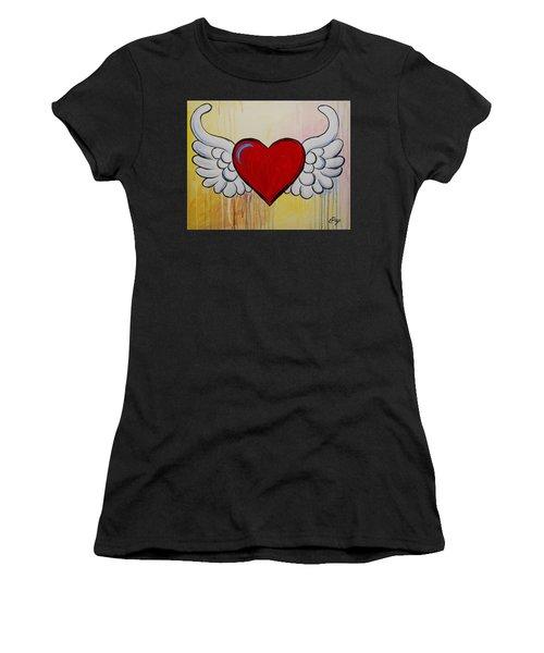 My Heart Has Wings Women's T-Shirt