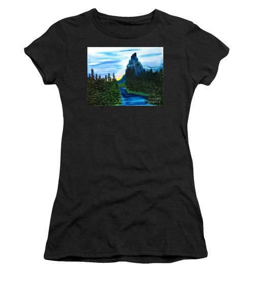 My Imagination Only Women's T-Shirt (Athletic Fit)
