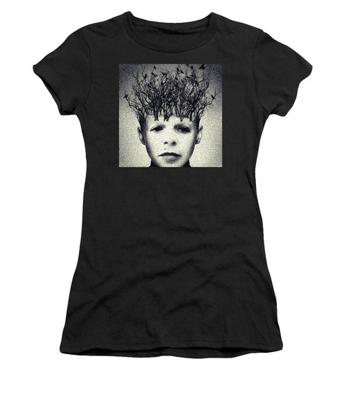 My Mind Women's T-Shirt (Athletic Fit)