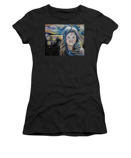 My Summer Visitor Women's T-Shirt (Athletic Fit)