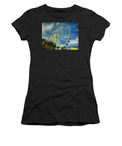 Myrtle Beach Skywheel Women's T-Shirt (Athletic Fit)